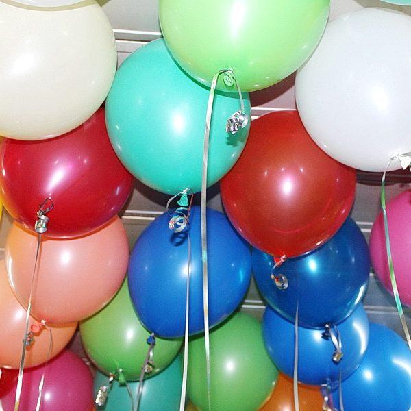 воздушные шарики без рисунка с обработкой Hi-float