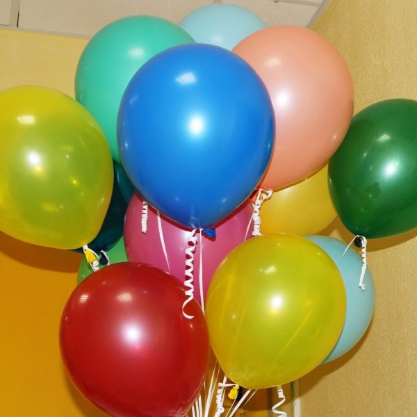 воздушные шарики без рисунка